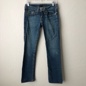 True Religion Johnny Straight Leg Jeans 28